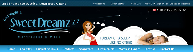 Sweet Dreamzzz Mattress Online Store
