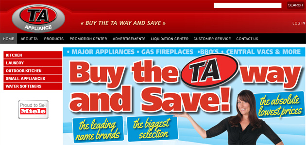 Ta Appliance Online Flyer