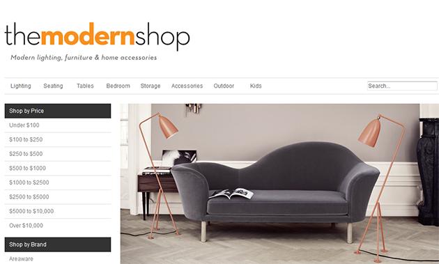 The Modern Shop Online