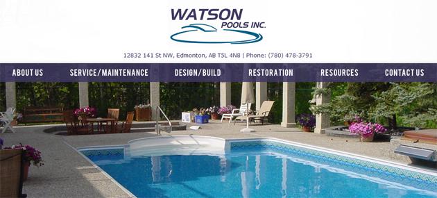Watson Pools Online