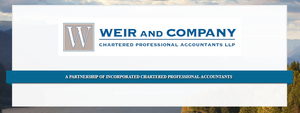 Weir And Company Chartered Professional Accountants Online